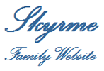 Skyrme family and one-name study website