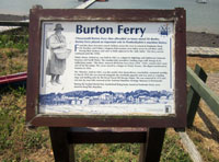 Burton Ferry notice