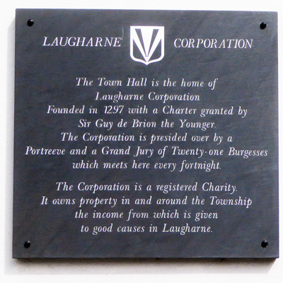 Laugharne corporation